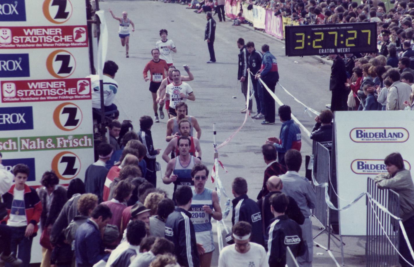 Wien-Marathon 1985