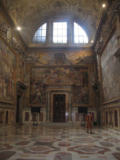 Schweizergardist im Vatikan